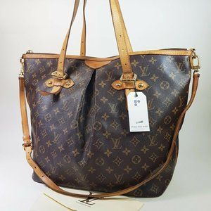 Auth Louis Vuitton Palermo Gm Tote Bag #7310L61B